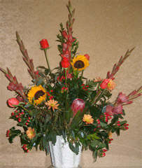 photo of flower bouquet